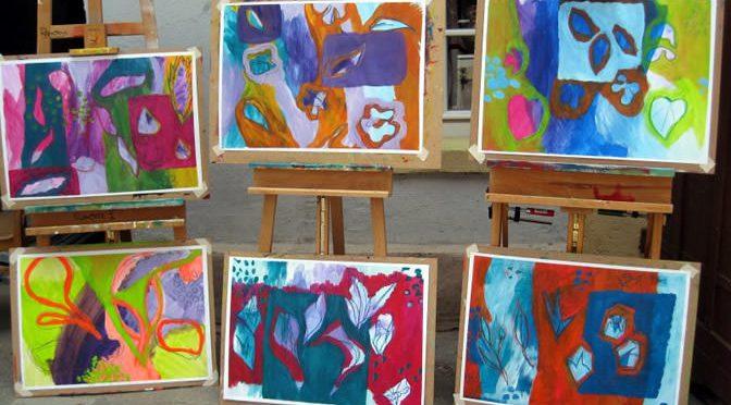Impressionen von Workshop Magie der Farbe